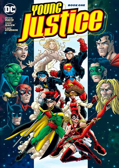 Комикс-Young-Justice-Book-1