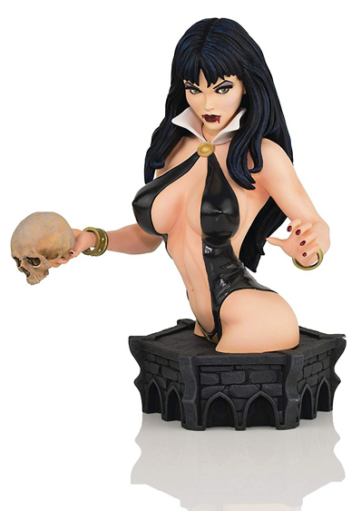 фигурка-Вампирелла-Vampirella-by-Arthur-Adams-Black-&-Blood-Artist-Proof-Version